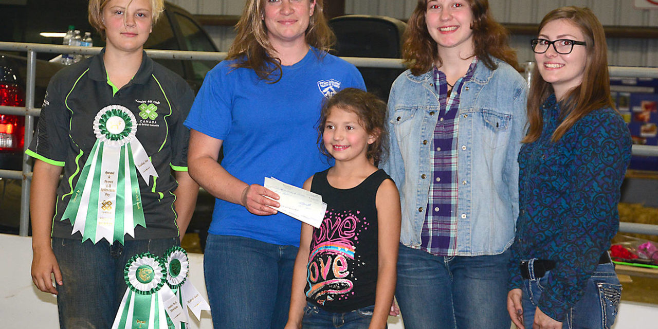 Quesnel and District 4-H Clubs show gratitude
